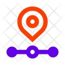 Route Check Point Geotag Icon