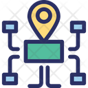 Guide Map Navigation Icon