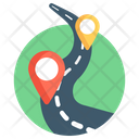 Route Map Location Map Pin Icon