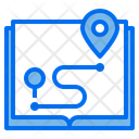 Map Pin Locations Icon
