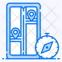 Route Ways Destination Icon