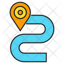 Route Street Gps Icon