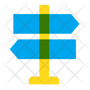 Route Road Navigation Icon