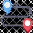 Route Road Track Icon