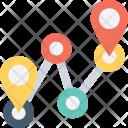 Location Gps Distance Icon