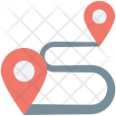 Route Location Gps Icon