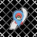 Route Flat Icon