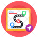 Route Map Icon
