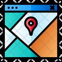 Route Pin Location Icon