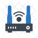Modem Router Signal Icon