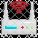 Router Wifi Signal Wireless Internet Icon