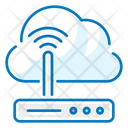 Router Internet Cloud Icon