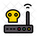 Router Hacking Danger Router Router Icon