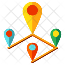 Routing Navigation Location Icon