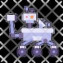 Rover Drone Transportation Icon