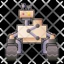 Rover Robot Icon