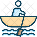 Row Boat Boat Canoe Icon
