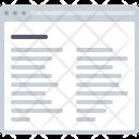 Row Wise Detail Text Row Icon