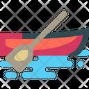Rowboat Canoe Kayak Icon