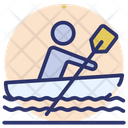 Boat Canoeing Rafting Icon