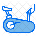 Rowing Machine Stationary Bike Gym Equipment Icon