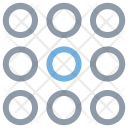 Rows Content Structure Icon