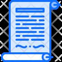 Royal Decree Scroll Icon
