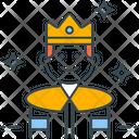 Royal businessman Icon