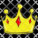 Royal Crown Emperor Crown Headgear Icon