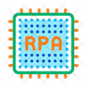Rpa Chip Cyber Icon