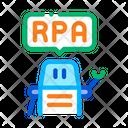 Process Automation Robot Icon