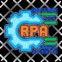 Rpa Settings Cyber Icon