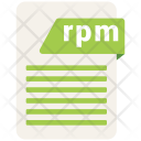 Rpm Format Formats Icon