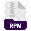 Rpm File Document Icon