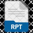 Rpt File Icon