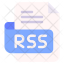 Rss Document File Icon