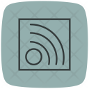 Rss Feed Signal Transportation Icon