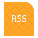 Rss Extension File Icon