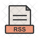 Rss File Extension Icon