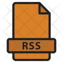 Rss File Syndication Icon