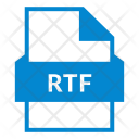 Rtf Ppt File Powerpoint Icon