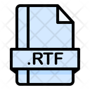 Rtf File File Extension Icon