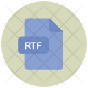 Rtf File Extension Icon