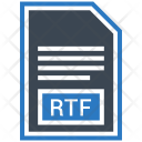 Rtf File Document Icon