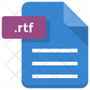 Rtf File Sheet Icon