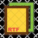 Rtf Ile Format Icon