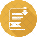 Rtf Extension Document Icon