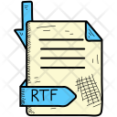 Extention Rtf Format Icon