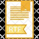 Rtf Document File Icon
