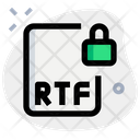 Rtf File Lock Icon